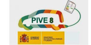 Novedades plan PIVE 8