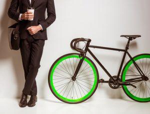 Bici o transporte público al trabajo