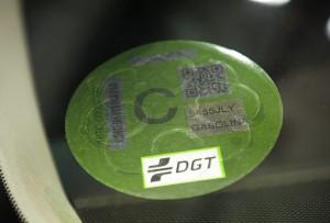 Etiquetas Eco para vehículos