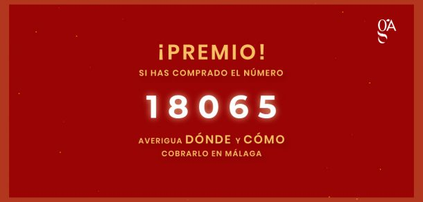 ¿Cuándo, dónde y cómo puedo cobrar la lotería de Navidad en Málaga?